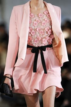Pretty in Pink- Alexis Mabille in Paris