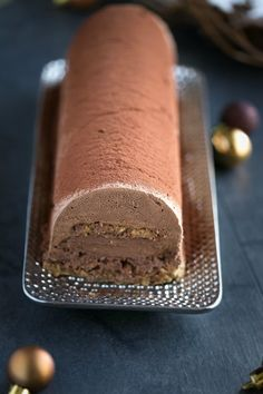 – My delicacies, let it be said … - Germany Rezepte Christmas Desserts, Fun Desserts, Christmas Eve, Zucchini Crisps, Healthy Zucchini, Cake Roll Recipes, Chocolate Mousse Cake, Food Cakes, Pretty Cakes