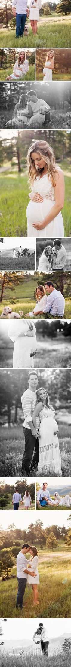 This gorgeous maternity session by La Petite Peach