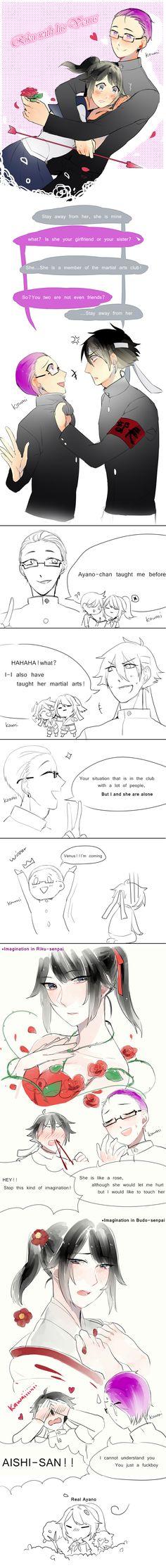 Riku with his Venus(X) by Koumi-senpai