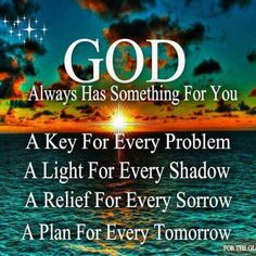 God always has something for you... #Catholic #Christianity #quotes #meditations