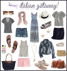 Italy Packing List