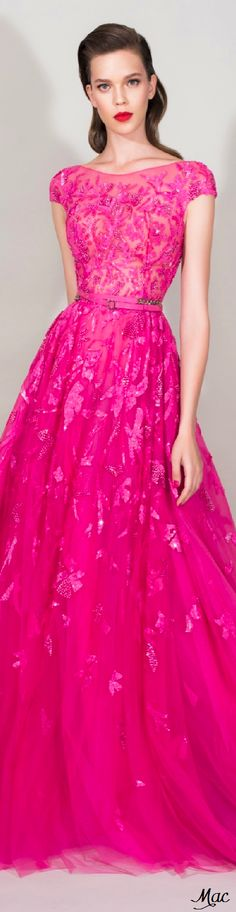 ec9f070c1dce Zuhair Murad Resort 2016 I love P I N K this dress is stunning
