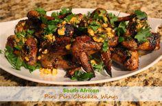 South African Piri Piri Chicken Wings