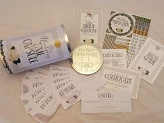 ETSY Must Have Gift - Wedding Time Capsule Keepsake Bridal Shower Gift for Bride and Groom.