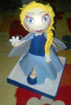 Fofucha reina Elsa Frozen
