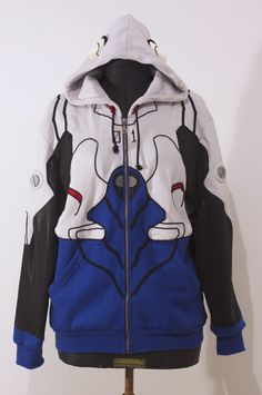 OTAKool: Hooded full zip sweatshirt inspired by SiSartoriaCreativa