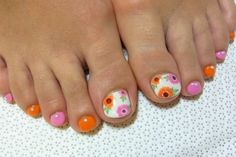 Stylish Pedicure Nail Art Designs