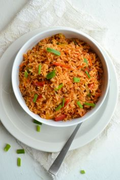 Schezwan Fried Rice - Delicious Indo-Chineese dish made with delicious vegetables and Schezwan masala, really make your dinner a awesome one! Vegetarian Rice Recipes, Veg Recipes, Spicy Recipes, Indian Food Recipes, Asian Recipes, Cooking Recipes, Healthy Recipes, Maggi Recipes, Indian Foods