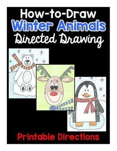 Your children will LOVE this Directed Drawing activity.  Even your most reluctant learner will want to participate.  You'll find 3 winter animals in this pack that have clear  directions that anyone can follow.  Reindeer Directed DrawingPolar Bear Directed DrawingPenguin Directed Drawing You can find my Snow Globe Directed Drawing here:https://www.teacherspayteachers.com/Product/Snow-Globe-Directed-Drawing-2922509Enjoy!