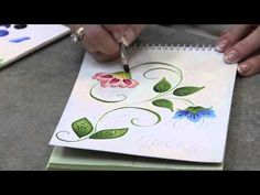 DecoArt® Come Paint With Us! - Lesson 3: Floral Notepad