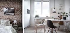 Un pequeño apartamento decorado con sencillez - http://www.decoora.com/un-pequeno-apartamento-decorado-con-sencillez/