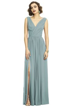 Shop Dessy Bridesmaid Dress - 2894 in Lux Chiffon at Weddington Way. Find the perfect made-to-order bridesmaid dresses for your bridal party in your favorite color, style and fabric at Weddington Way.