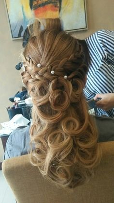 Briedmide ... Hair do by me...