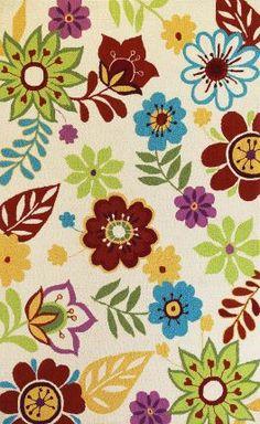 Sonesta Retro Floral Rug
