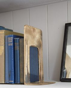 Cast Bronze Book End