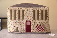 www.cinderellas.es - Funda máquina de coser - Sewing Machine Cover