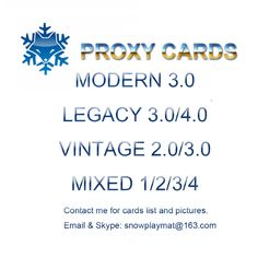 3.0 WHOLE SETS Modern/Legacy/Vintage And MIXED 1.2.3 56PCS/LOT Black Core Magical Proxy Card,MTG Proxy Board Games