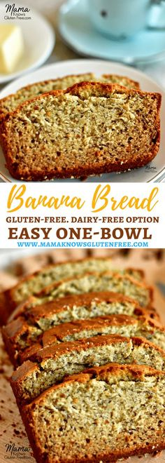 Easy Gluten-Free Banana Bread {Dairy-Free Option} - Mama Knows Gluten Free