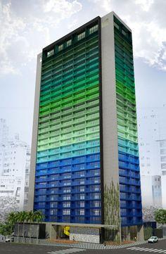 Edifício Brasil by Marcelo Rosenbaum - Sao Paulo, Brazil.