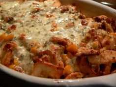 Zapečené gnocchi s nivou Gnocchi, Bon Appetit, Cheeseburger Chowder, Lasagna, Italian Recipes, Food And Drink, Menu, Soup, Pasta