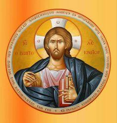 One of my favorite icons Byzantine Icons, Byzantine Art, Christ Pantocrator, Church Icon, Chi Rho, Orthodox Christianity, Orthodox Icons, Christian Art, Holy Spirit