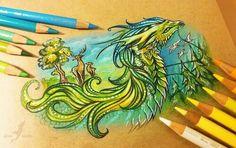 Dragon Art   We Heart It