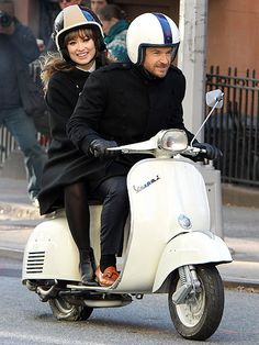 Who doesn't want a Vespa?