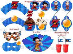 Tarjetas De Invitacion A Cumpleaños Dragon Ball Para El Móvil 8 HD Wallpapers