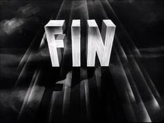Movie title from the film 'La charrette fantôme' directed by Julien Duvivier, starring Pierre Fresnay, Marie Bell and Micheline Francey 1940s Movies, Old Movies, Vintage Movies, The End Movie, Art Of The Title, Storyboard Artist, Hollywood Theme, Title Card, Movie Titles