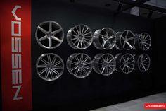 Car Workshop, Workshop Design, Vossen Wheels, Car Wheels, Aftermarket Rims, Automotive Shops, Mazda Cx 9, Tyre Shop, Showroom Design
