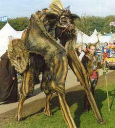 4 legged stilt creature