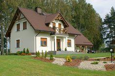 Realizacja projektu Azalia 4 (121 m2). Pełna prezentacja projektu znajduje się na stronie: https://www.domywstylu.pl/projekt-domu-azalia_4.php. #azalia4 #domy #projektydomow #dom #projekty #architektura #architecture #domywstylu #mtmstyl #realizacja