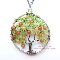 Copyright Home Baby Crafts 2012  Life is Peachy Peach Tree of Life in Peach by HomeBabyCrafts, $34.00