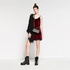Velvet lingerie with lace details Winter 2017, Fall Winter, Autumn, Lace Detail, Velvet, Lingerie, Stylish, Unique, Collection