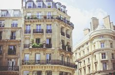 Buildings of Paris, so beautiful