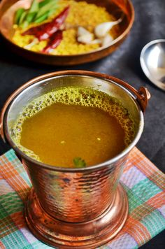 Easy garlic rasam recipe..... put some tamarind. .. have it with rosted poppadoms. ..