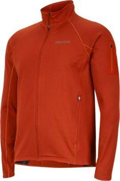 Marmot Men's Stretch Fleece Jacket Dark Rust XXL
