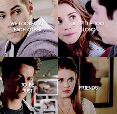 We looked at each other a little too long to be just friends. #Stydia