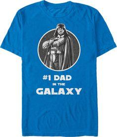 Darth Vader #1 Dad in the Galaxy T-Shirt