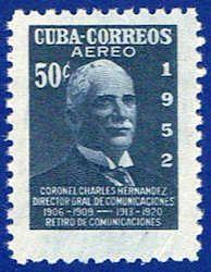 Cuba C71 Stamp - Colonel Sandrino Stamp - C CU C71-1 MNH