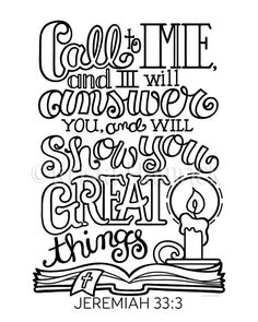 I Will Show You Great Things coloring page in two sizes: Bible journaling tip-in Scripture Memorization, Scripture Art, Bible Art, Scripture Lettering, Hand Lettering, Travelers Notebook, Bible Quotes, Bible Verses, Scriptures