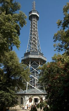 Petřín observation tower, Prague, Czechia
