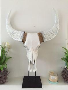 www.bymaris Bewerkte skull