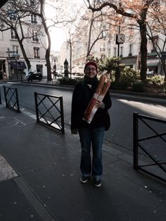 There is nothing like a fresh baguette from your local boulanger in Paris