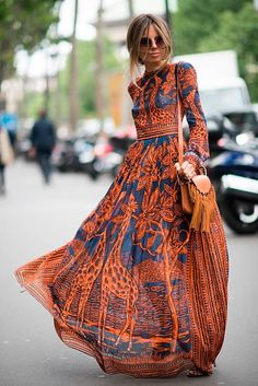Boho fashion 138837600994167790 - Best Street Style Couture Fashion Week Paris – July 2016 Source by millennielle Short Beach Dresses, Sexy Dresses, Vintage Dresses, Casual Dresses, Summer Dresses, Dress Long, Long Dresses, Summer Maxi, Dress Formal
