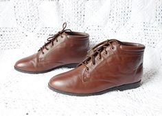 Vintage NEW 1990s Connie Chestnut  Brown by WayOutWestVintage, $55.00