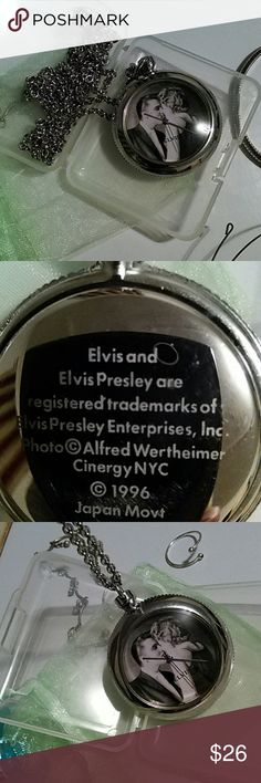 The Kiss pocket watch/ELVIS/BARBARA The Elvis-Kiss Mystery?Solved!  In the summer of 1956, a 21-year-old Elvis Presley, already inciting libidinous mayhem from Kansas City to Jacksonville, impishly touched tongues with a young woman in Richmond, Virginia. Alfred Wertheimer snapped the shutter just at the moment of contact. The result: ?The Kiss,? one of the most storied photos in Elvis lore. Yet for five decades, no one, not even Wertheimer, knew the identity of Presley?s date?until now…
