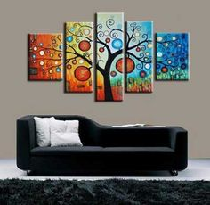 cuadro triptico moderno abstracto 6 Home Interior, Interior Decorating, Modern Art For Sale, Extra Large Wall Art, Large Painting, Pour Painting, Creative Walls, Mandala Art, Textured Walls
