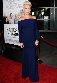 "Pink (Alecia Moore) at Film Premiere of ""Thanks for Sharing - Sept. 2013"
